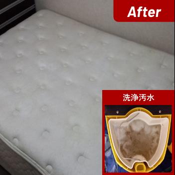 マットレス洗浄After