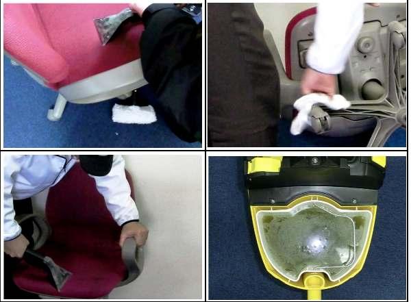 ソファー・椅子 クリーニング写真1