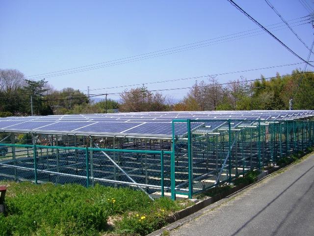 太陽光発電所の送電開始について1
